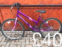 Ladies mountain bikes bike