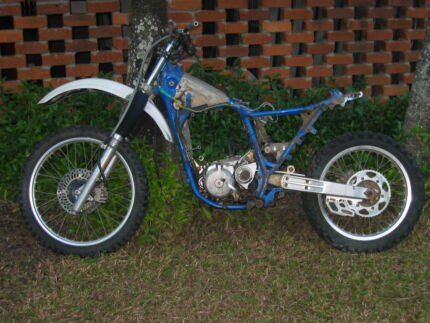 1990 SUZUKI DR250S FRONT FORKS Boronia Heights Logan Area Preview
