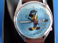 SEIKO AUTOMATIC MICKEY MOUSE WATCH D/D. for sale  Marske-by-the-Sea, North Yorkshire