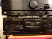 TEAC Stereo Cassette Deck v-615