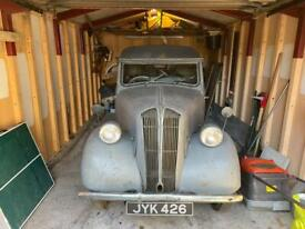 Standard 8 drop head coup 1948 by Mulliner