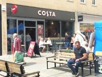 Barista/ Barista Maestro/Assistant Manager for busy Costa store