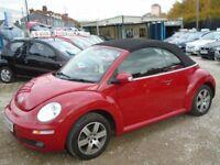 volkswagen beetle luna, 1.6 petrol, metallic red, 3 door