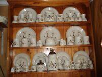 Vintage Royal Doulton Lambethware Wild Cherry China Collection