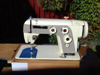 Jones semi-industrial 553 vintage sewing machine – inc case - VGC