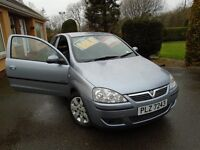 Vauxhall Corsa low miles with mot good condition 2005 silver