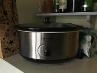 Cookworks slow cooker large