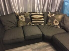 Large corner sofa in good condition