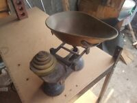 old fashioned kitchen scales