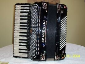 Scandalli Polifonico 96 Bass Piano Accordion