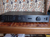 Audiolab 8000S integrated amplifier. Made In England version with remote and original packaging