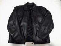 Men's XL leather jacket / coat