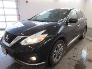 2016 Nissan Murano SL! AWD! B-UP CAM! ALLOYS! NAV! SUNROOF! LEAT