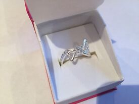 Brand new Silver ring size P