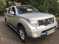 Nissan Navara ADVENTURA, 2.5dci AUTOMATIC, 2008, 3 Months free warranty NO VAT ***bargain***