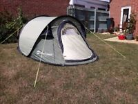 OUTWELL Pop-up Jersey S tent in excellent condition: