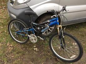 "Cheap old 24"" mountain bike"
