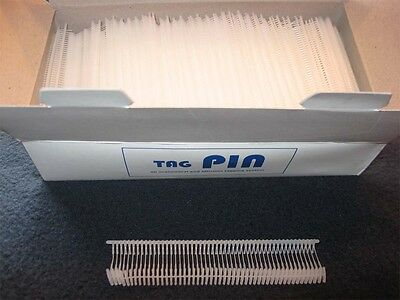 5000 Heftfäden für Etikettierpistole TAG PINS für Anheftgerät Etikettiergerät