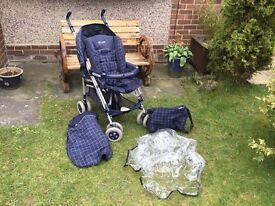 Mamas and papas baby pushchair/pram