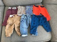 Baby clothes bundle 0-3m (19 items)