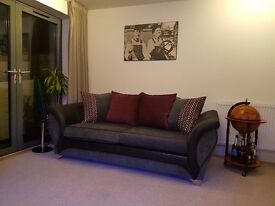 3 seater pillow back sofa - with upgraded foam cushions