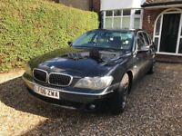 BMW 750i, immaculate, every extra available, FSH