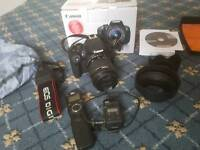 Canon eos 700d with 18-55mm kit lens relisted dew to time waster