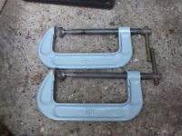 """G clamps as new 6"""""""