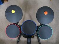 Xbox 360 Band Hero Wireless Drum kit - Complete