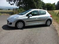 PEUGEOT 207 1.4HDI S 5dr Hatchback ONLY 50,000 Miles