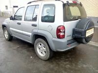 jeep cherokee crd sport automatic turbo diesel 2005 05