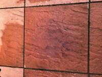 FREE Approximately 30M2 patio tiles