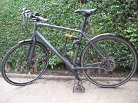 Specialized commuter/touring bike, lightly used, two years old