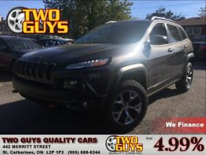 2014 Jeep Cherokee Trailhawk 4x4 LEATHER