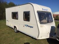 Bailey ranger 2008 470/4 berth light weight very nice condition hot and cold running water 3 way