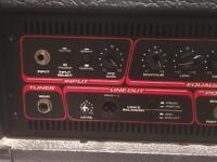 Peavey nitrobass bass amp 300 watts.