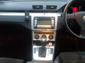VW PASSAT SEL SALOON 2007 SALOON BLUE DSG SEMI AUTO BOX