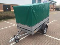 Car trailer Brenderup 1205XL and 83 cm high cover