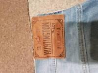 Mens Huntington jeans brand new unworn 32w 32l free postage