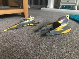 Star Wars Anakin fighter ship