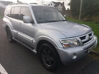 Mitsubishi shogun Warrior 3.2ltr D-id may px