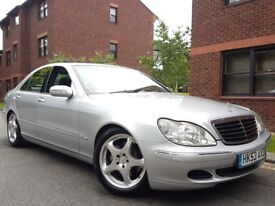 2003 MERCEDES S320 CDI AUTO-TIP FACE LIFT MODEL FULLY LOADED SPEC