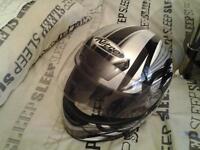 nitro crash helmet worn once