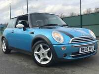 MINI COOPER 1.6 2005 * PETROL * ALLOYS * HALF LEATHERS * ALLOYS * LONG MOT * SERVICE HISTORY
