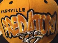 Nashville predators snapback hat cap (BRAND NEW)