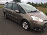 DIESEL CITROEN C4 PICASSO 2008 1.6 MOT TILL 09/04/2018 7SEATER EXCELLENT CONDITION