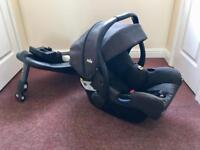 Baby Car seat and Isofix (Joie I-Gemm and I-Base Advance)
