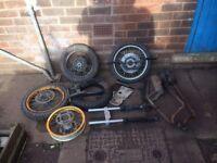 Motor bike parts