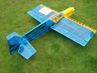 ARTF R/C RC - Radio Control ) model plane - Seagull Harrier 90 with SC 61 (10 cc) - NOT A TOY