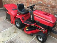 Westwood T1400 38' Garden Tractor Mower, Biggs & Stratton 14.5HP, Power Sweeper